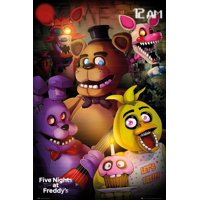Five Night At- Freddys Group Poster - 24x36