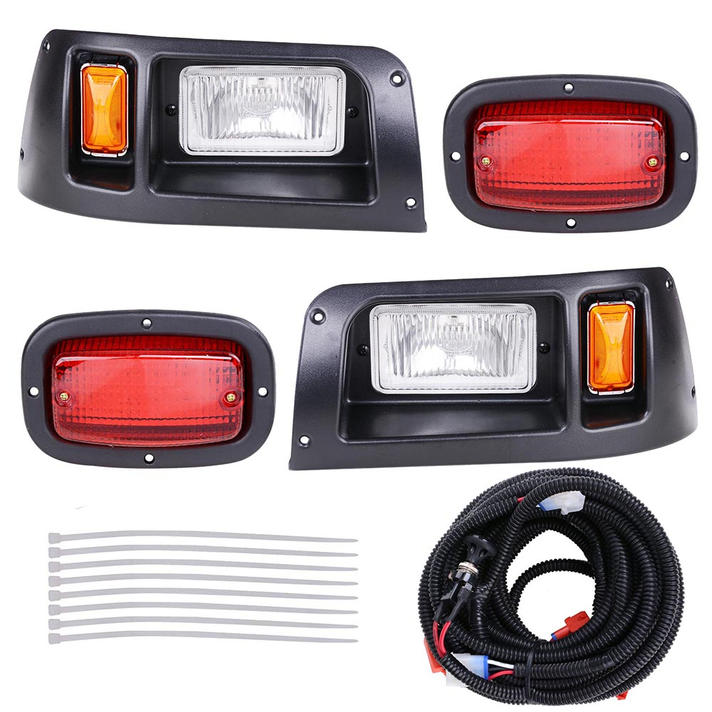 Golf Cart LED Light Kit ABS Plastic For Club Car DS Models from 1998 Outdoor Sport Light
