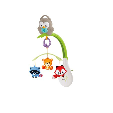 Sage Musical Mobile (Fisher-Price Woodland Friends 3-in-1 Musical Mobile )