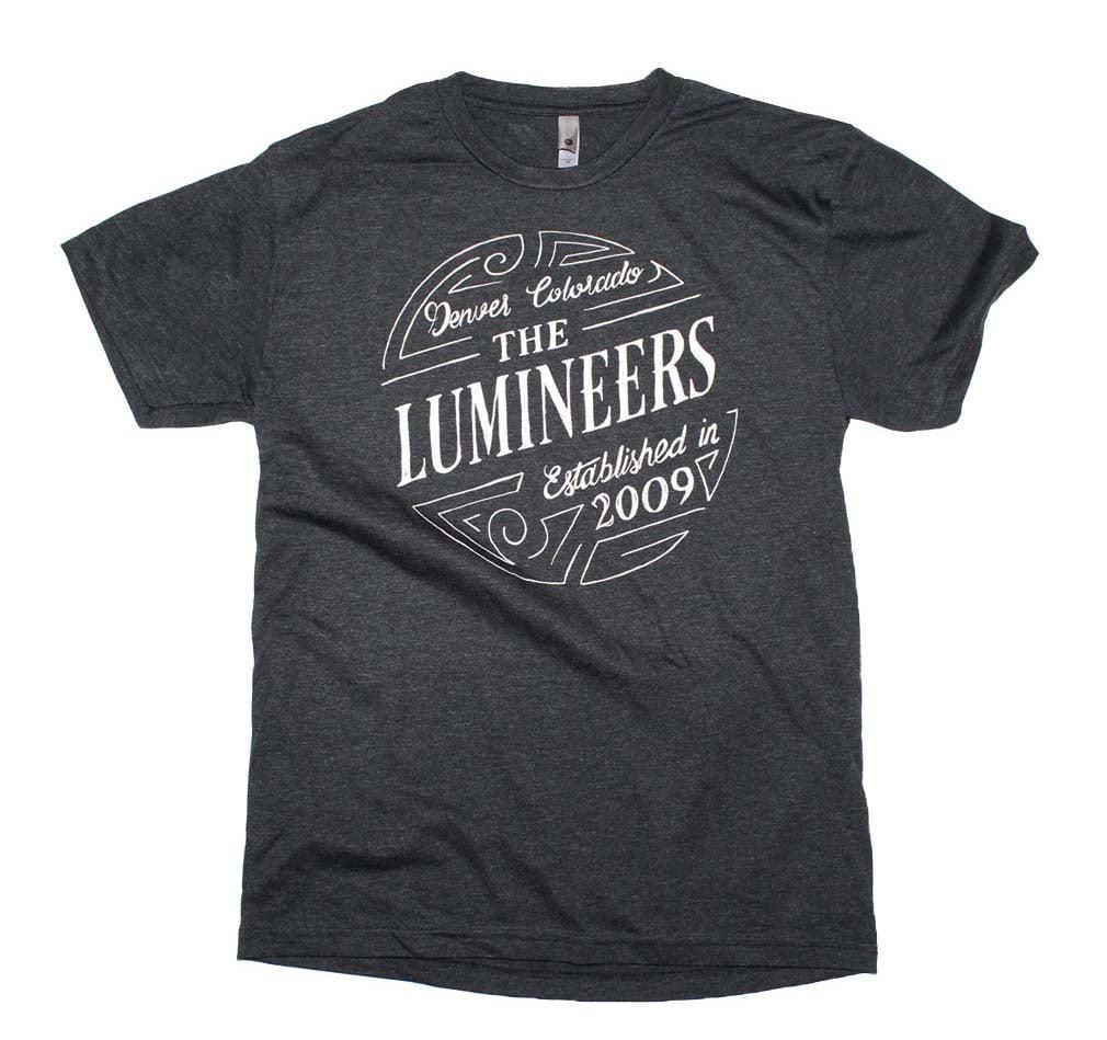 Lumineers The Lumineers Circle Logo T Shirt Walmartcom
