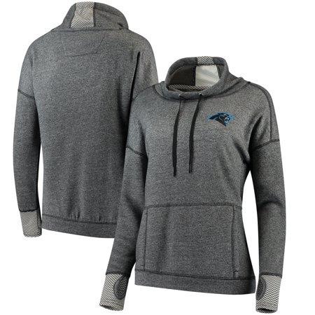 best service 83503 6006b Carolina Panthers Antigua Women's Snap Cowl Neck Pullover Sweatshirt -  Black - XL