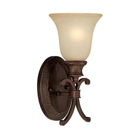 - Capital Lighting Hill House Burnished Bronze 1 Light Sconce