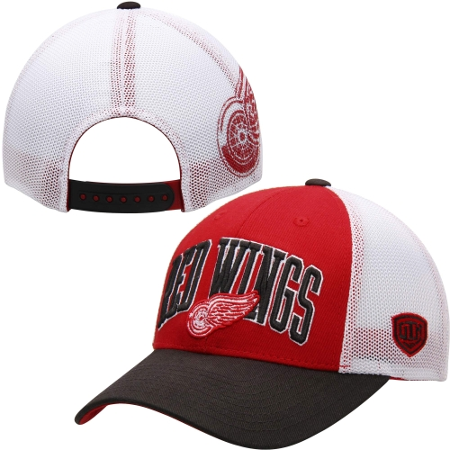 Detroit Red Wings Old Time Hockey Blaster Adjustable Hat - Red - OSFA
