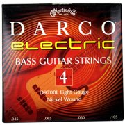 Martin Strings D9700-U Darco Nickel Wound Light Electric Bass Guitar Strings