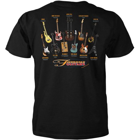 Famous Guitars Adult T-Shirt