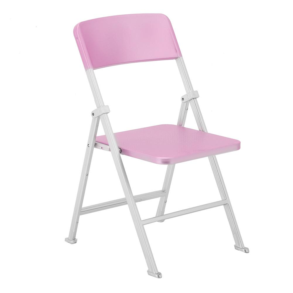 1//6 Scale Dollhouse Miniature Furniture Folding Chair for Dolls Action Figure Si
