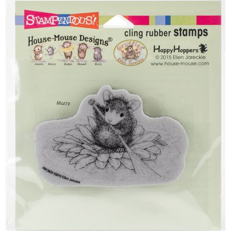 Stampendous House Mouse Cling Stamp -Petal Paddler