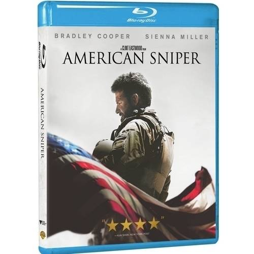 American Sniper (Blu-ray + DVD + Digital HD With UltraViolet) (With INSTAWATCH)