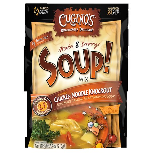 Cugino's Chicken Noodle Knockout Soup! Mix, 7.5 oz