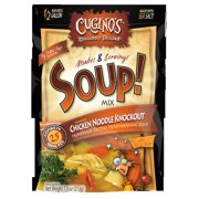 (6 Pack) Cugino's Chicken Noodle Knockout Soup! Mix, 7.5 oz