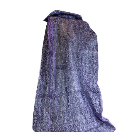Adult Halloween Costume Vampire Cape in Purple