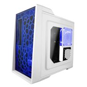 Apevia Mid Tower ATX Case with Window and 500W PSU (White)