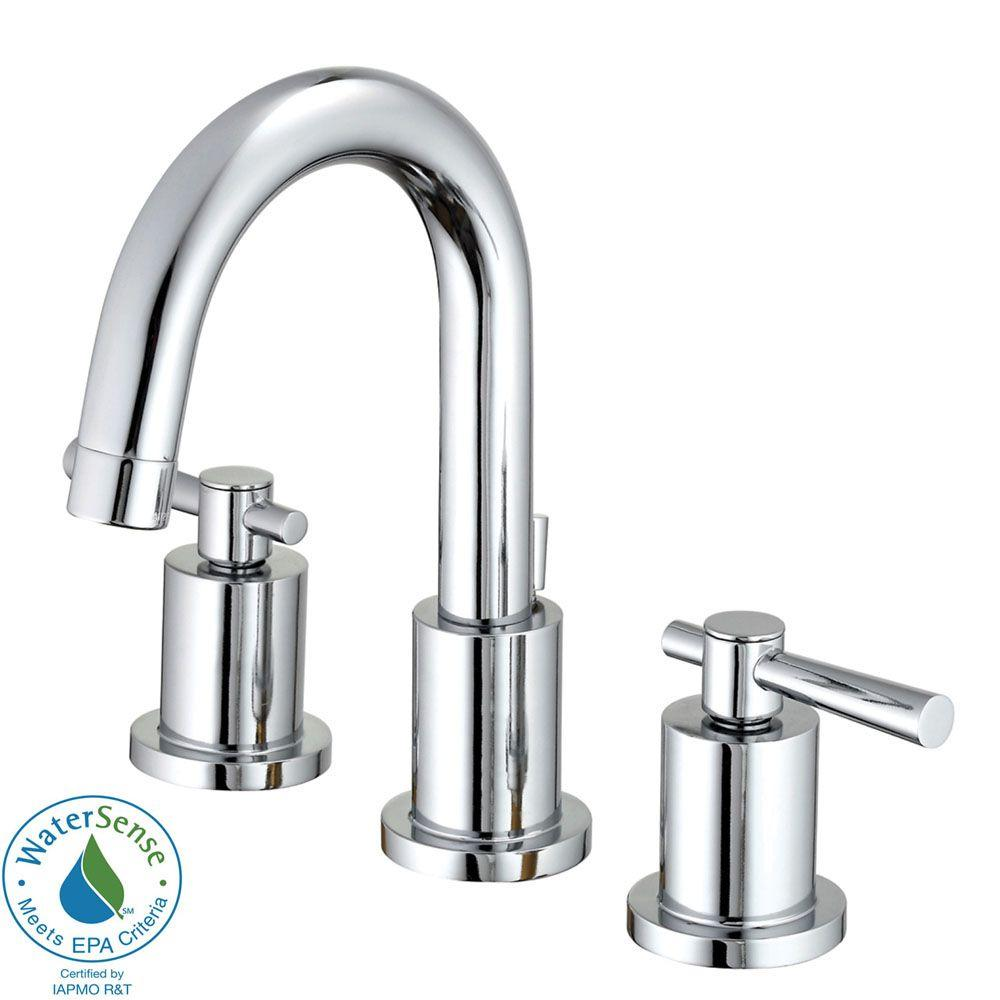 Belle Foret Ulm Widespread Bathroom Sink Faucet with Double Lever Handles
