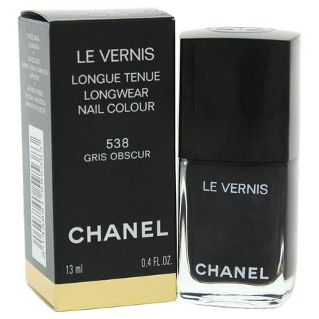 Chanel Le Vernis Longwear Nail Colour - 538 Gris Obscur 0.4 oz Nail
