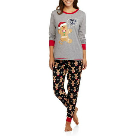 Womens Christmas Pajamas Walmart
