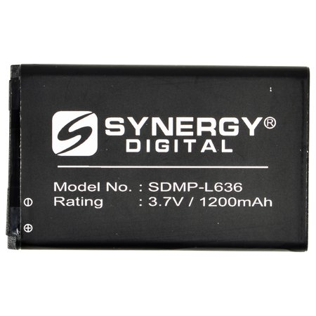 1200mah Li Ion Polymer Battery - Kyocera S3150 Cell Phone Battery (LI-ION 3.7V 1200mAh) - Replacement For Kyocera 5AAXBT070GEA SCP-58LBPS Cellphone Battery