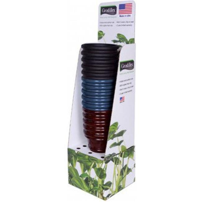Grosfillex USD53505 12 in. Tuscany Planter Display, 15 Piece - image 1 de 1
