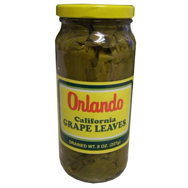 California Grape Leaves Orlando 1lb Small Jar Dr Wt 8oz Walmart Com Walmart Com