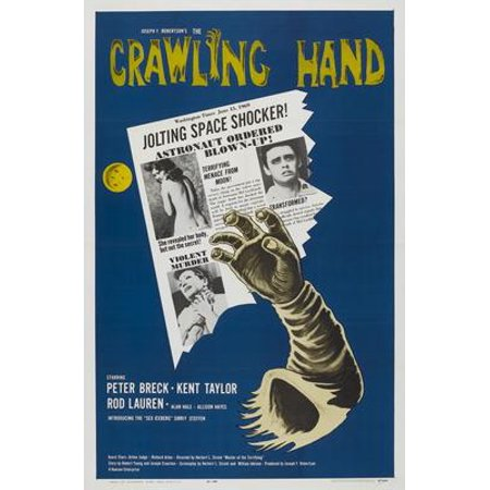 Crawling Hand Movie Poster 11x17 Mini - Crawling Hands