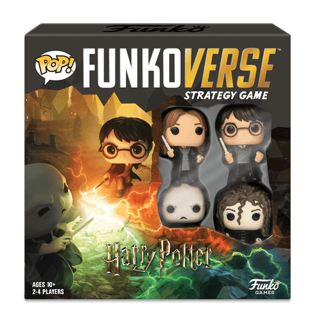 Christian Based Halloween Games (Funko Games POP! Funkoverse - Harry Potter - 4 Character Base)