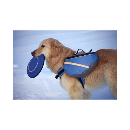 Doggles Extreme Dog Backpack in Blue and Gray - Walmart.com
