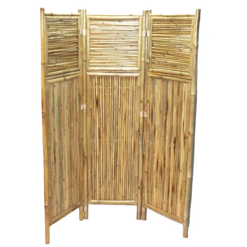 Bamboo54 63'' x 53'' 3 Panel Room Divider