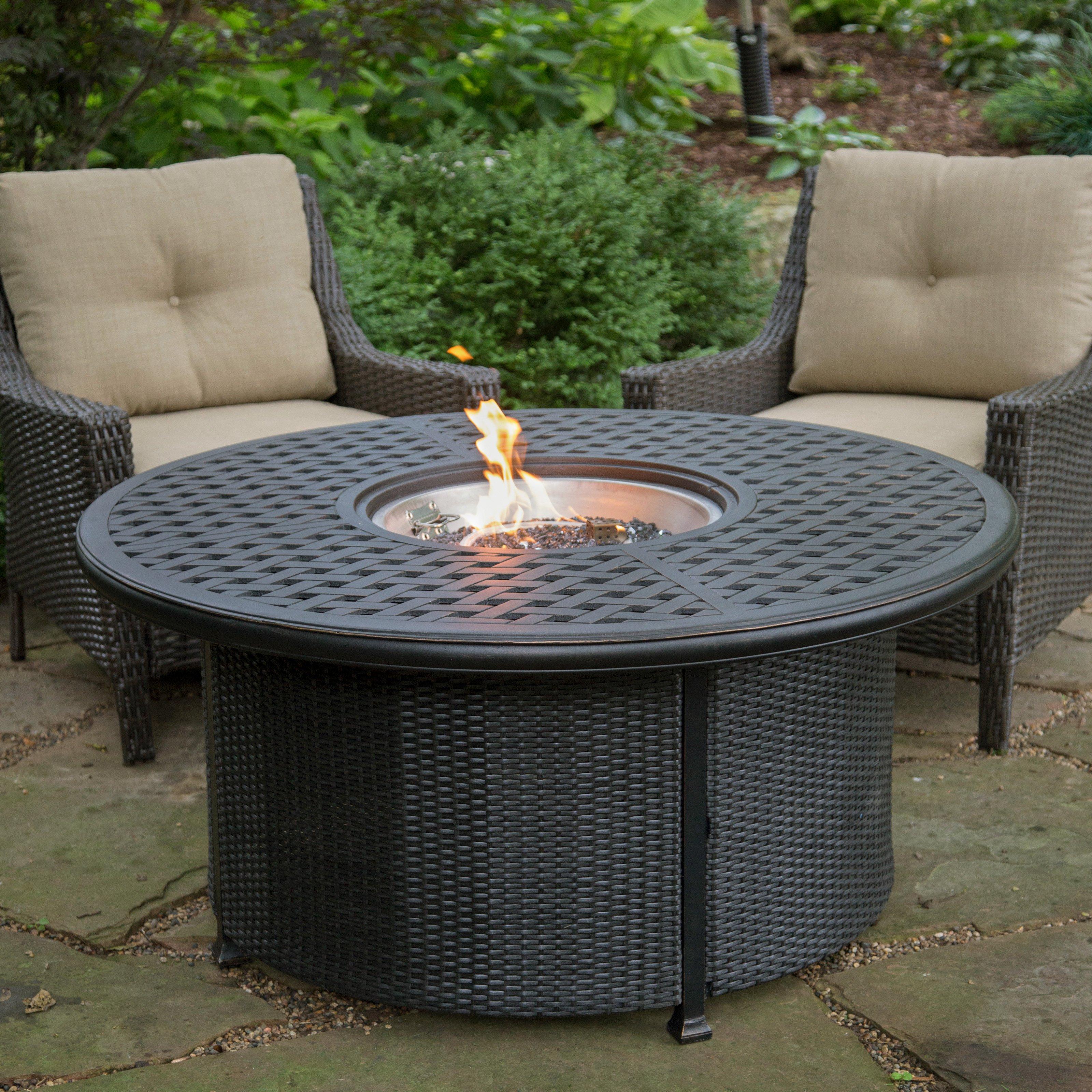 Propane Fire Pit Round Round Designs