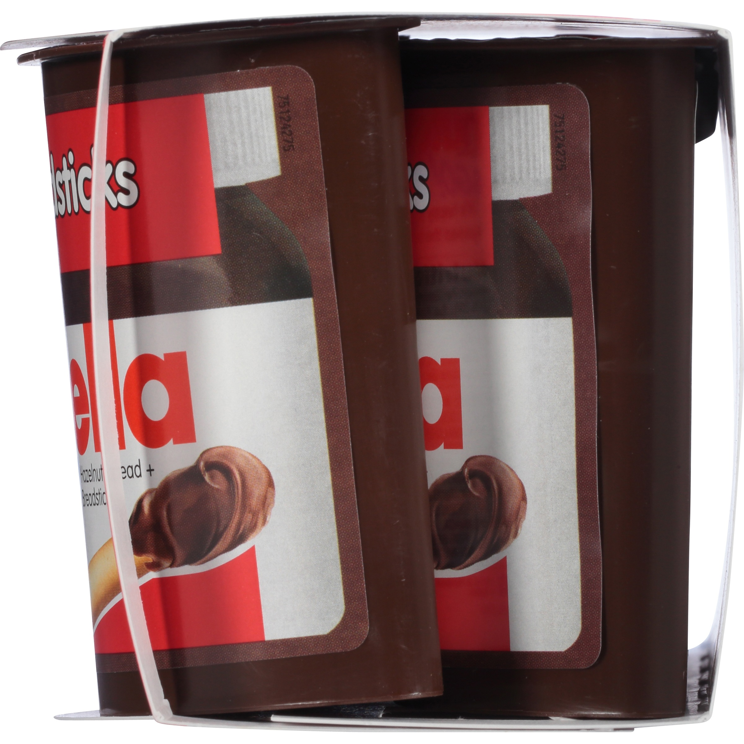 Nutella Go Hazelnut Spread With Breadsticks 4 18 Oz Packs Box Of 12
