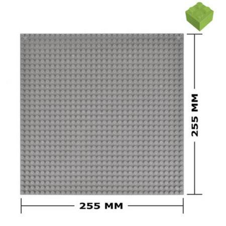 BanBao Base Plate, Small Block, Silver