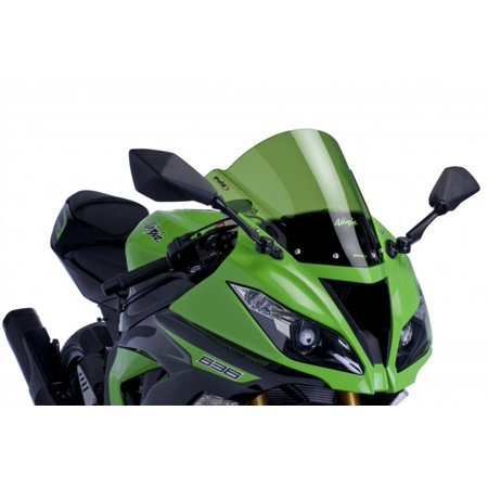 PUIG Racing Windscreen - Green 6482V - Raving Lights