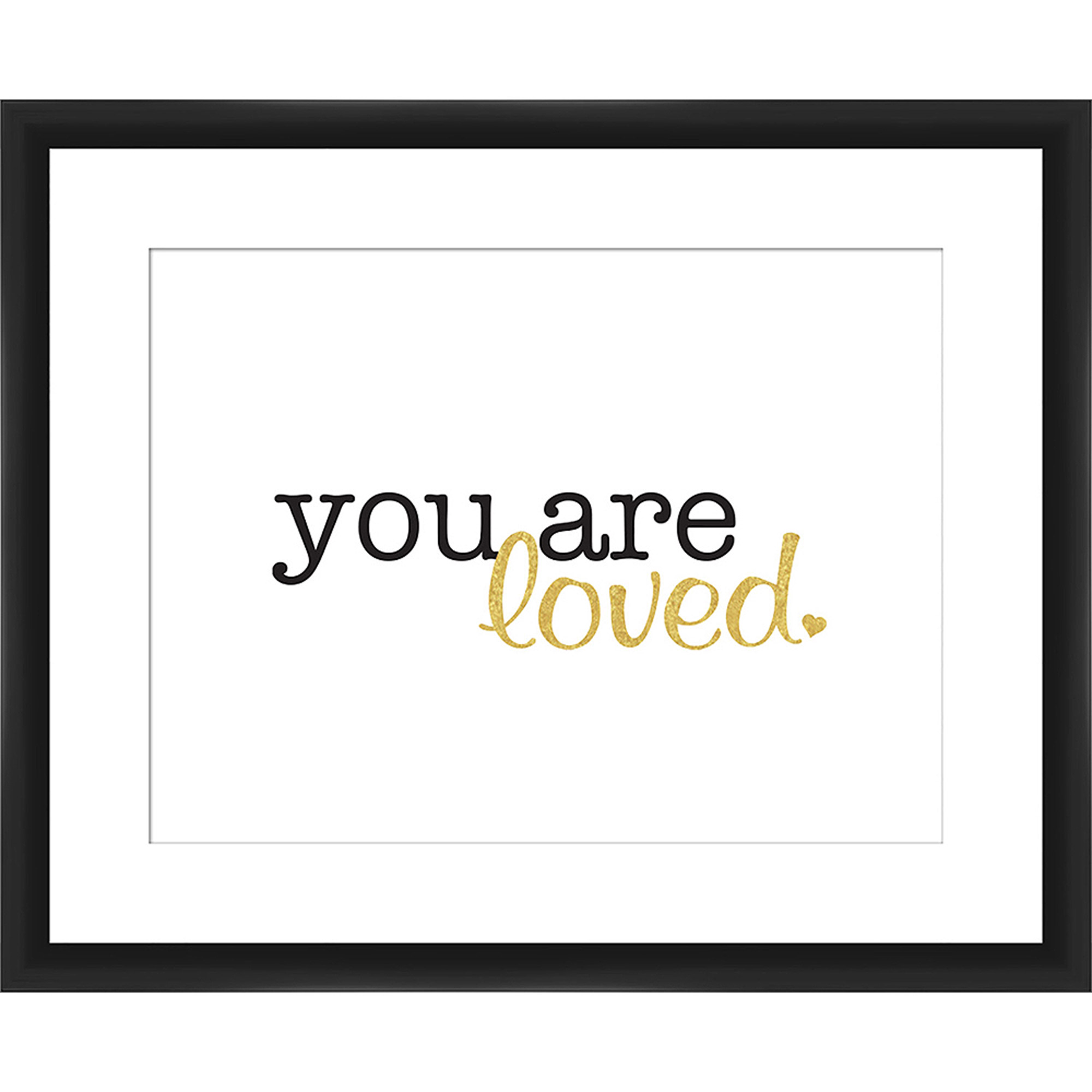 You Are Loved Wall Art, 22x18
