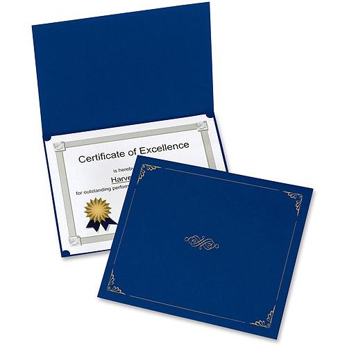 Esselte Oxford Linen-finish Certificate Holders