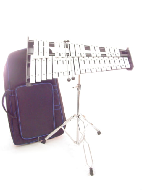32 Key 2.5 Octave Xylophone w Stand Case and Mallets Pro Percussion GLOCKENSPIEL by