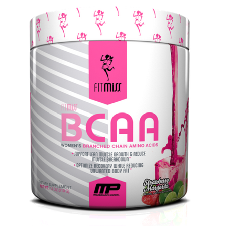 FitMiss BCAA Powder, Strawberry Margarita, 30