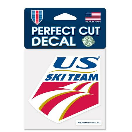 Usa Ski (Usa Ski Team Official USA Automotive Car Decal 4x4 by Wincraft)
