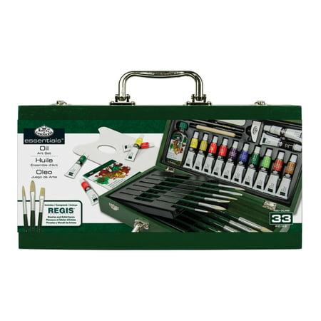 Frameless Oil Painting Set - Royal Brush The Oil Painting Box Set