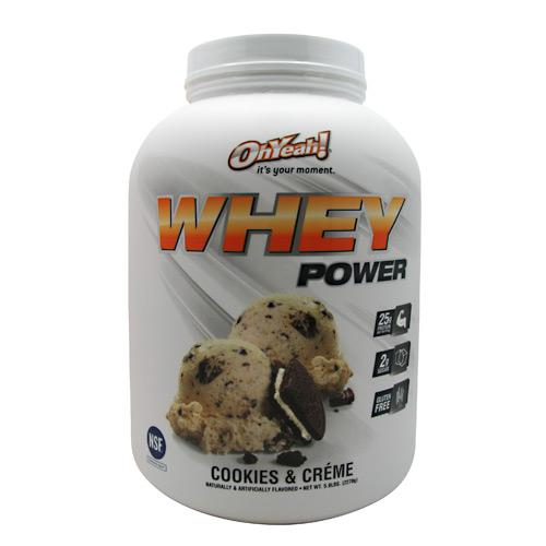 ISS Oh Yeah! Whey Power - Cookies & Creme / 5 LBS.