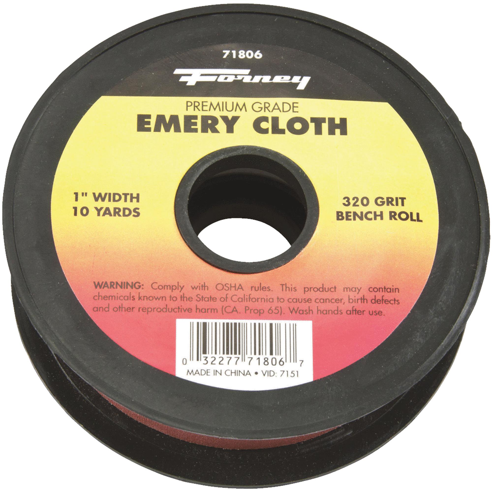 Forney Premium Grade Emery Cloth