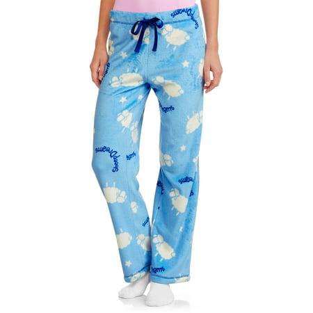 Faded Glory Women's Super Minky Fleece Sleep Pants (Sizes S-3X)