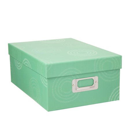 Decorative Photo Storage Box: Sketched Circle](Decorative Storage Containers)