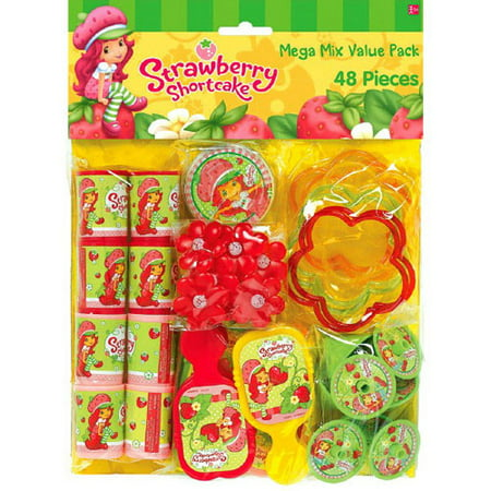 Strawberry Shortcake 'Dolls' Favor Pack (48pc) (Strawberry Shortcake Birthday Supplies)