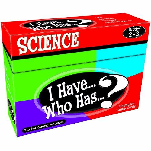 Teacher Created Resources I Have, Who Has Science Game Grade 2-3 - Educational (tcr-7856)