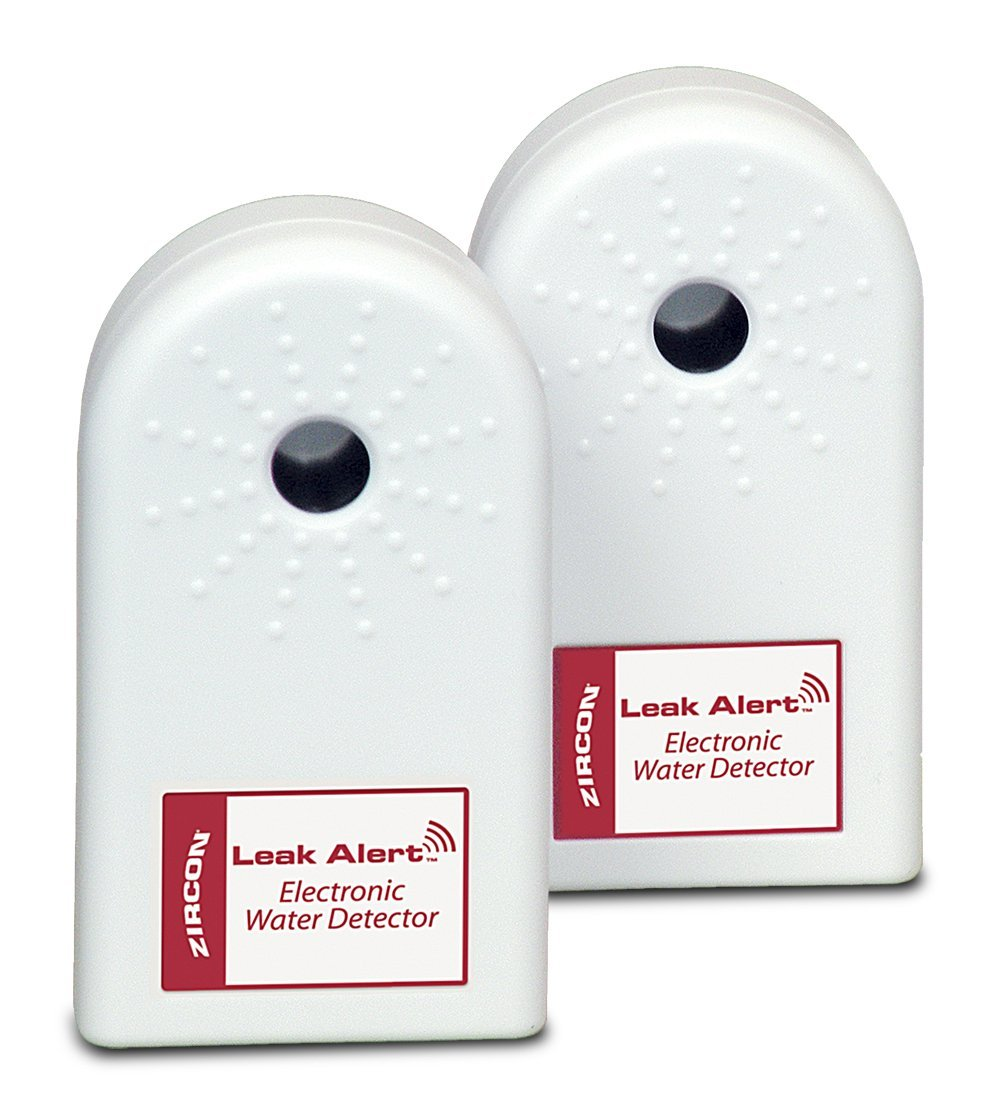 Leak Alert Electronic Water Detectors Bonus Pack, Batteries Not Included, 2-Pack, Loud... by