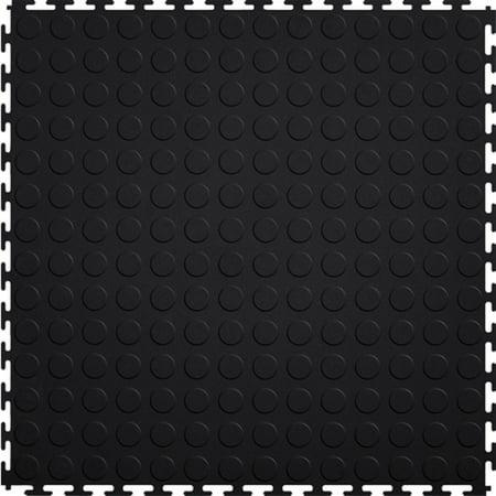 View 25 Tile (Mats Inc. Protection Garage Interlocking Floor Tiles, Coin, Black, 20.5