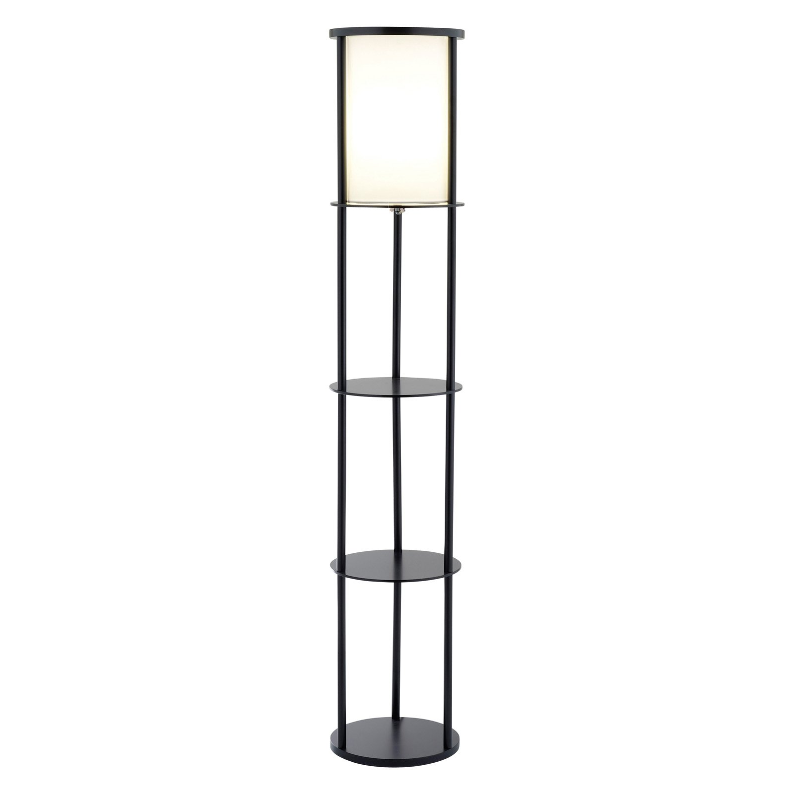 Adesso Stewart Shelf Floor Lamp by Adesso
