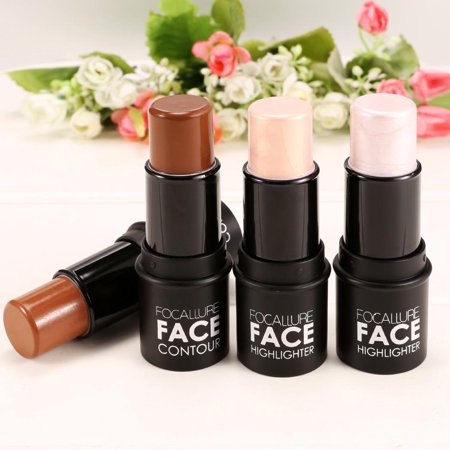 - Face Cream Highlight Stick Contour Stick Crayon Concealer Stick Flawless Blender Cosmetic Tool HITC