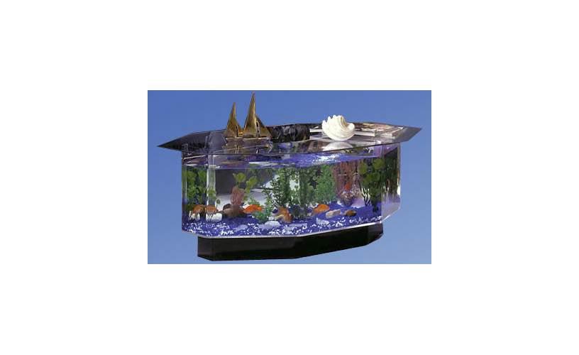 Midwest tropical fountain 25 gallon aqua coffee table for 30 gallon fish tank walmart