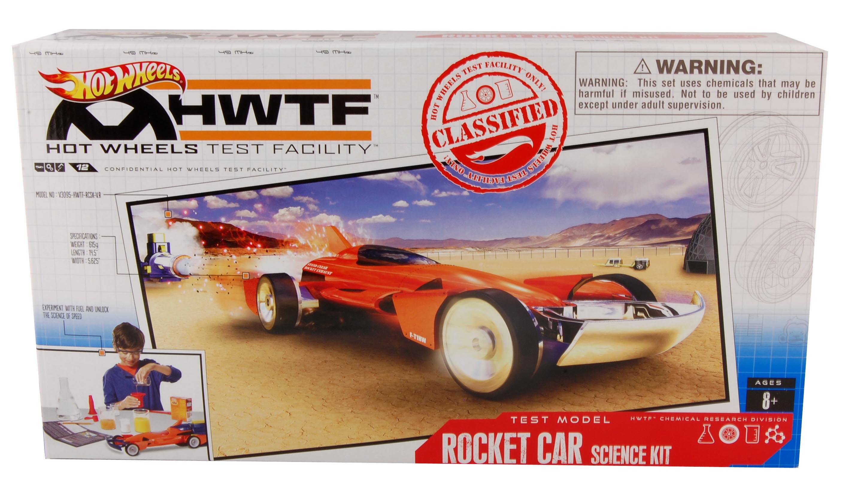 Hot Wheels Test Facility Rocket Car Science Kit   Walmart Canada