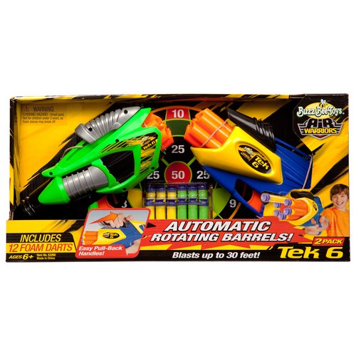 Air Warriors Twin Tek 6 Dart Blasters