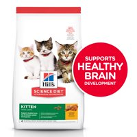 Hill's Science Diet Kitten Chicken Recipe Dry Cat Food, 15.5 lb bag